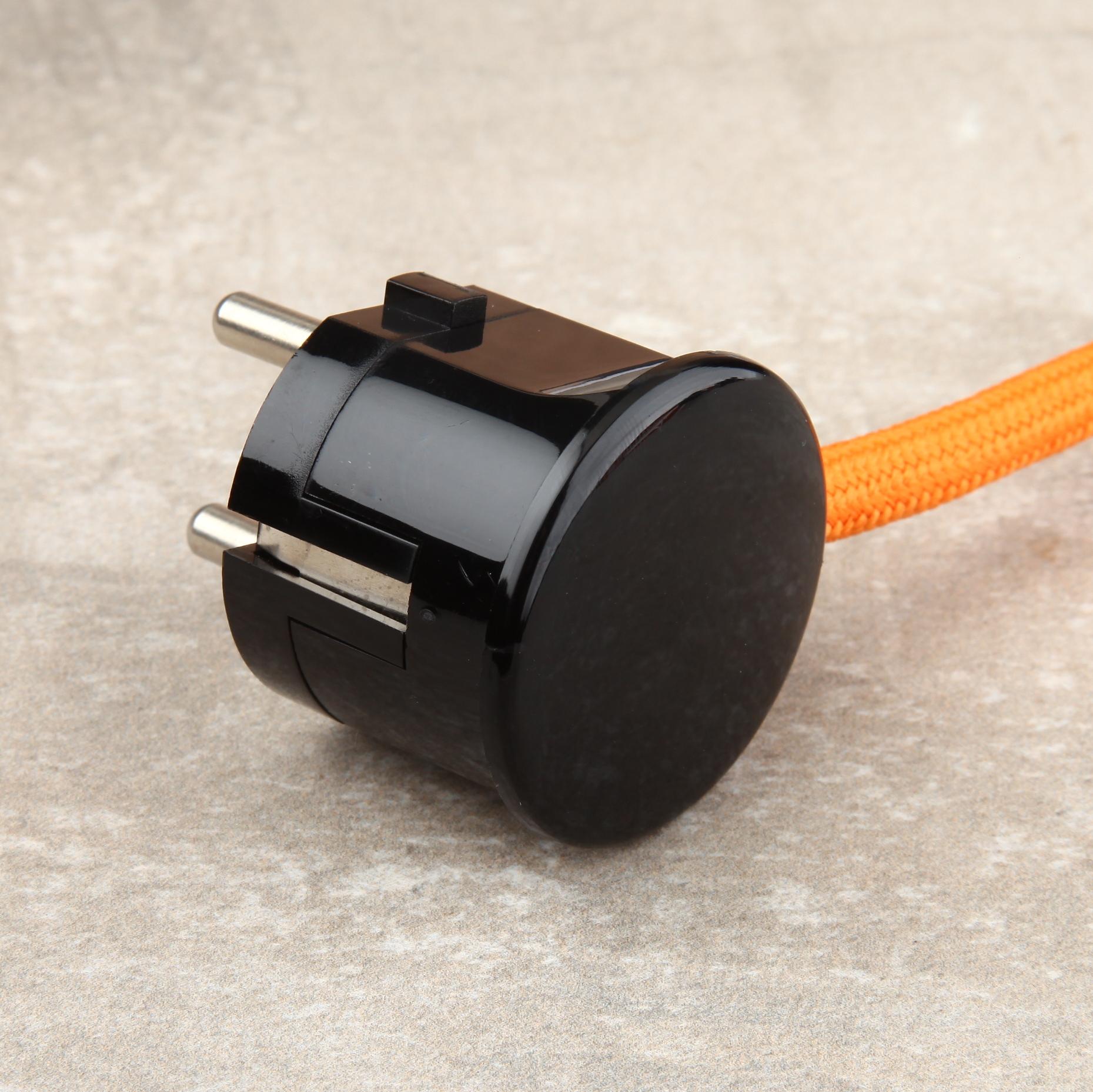 lampen schutzkontakt winkel stecker selber montieren 2. Black Bedroom Furniture Sets. Home Design Ideas